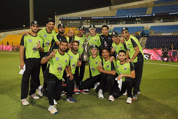 Lahore with the trophy