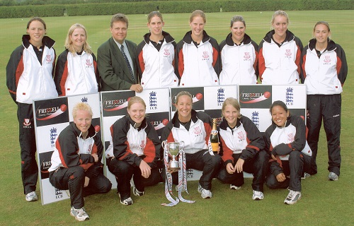 The 2003 Championship winning Sussex Women