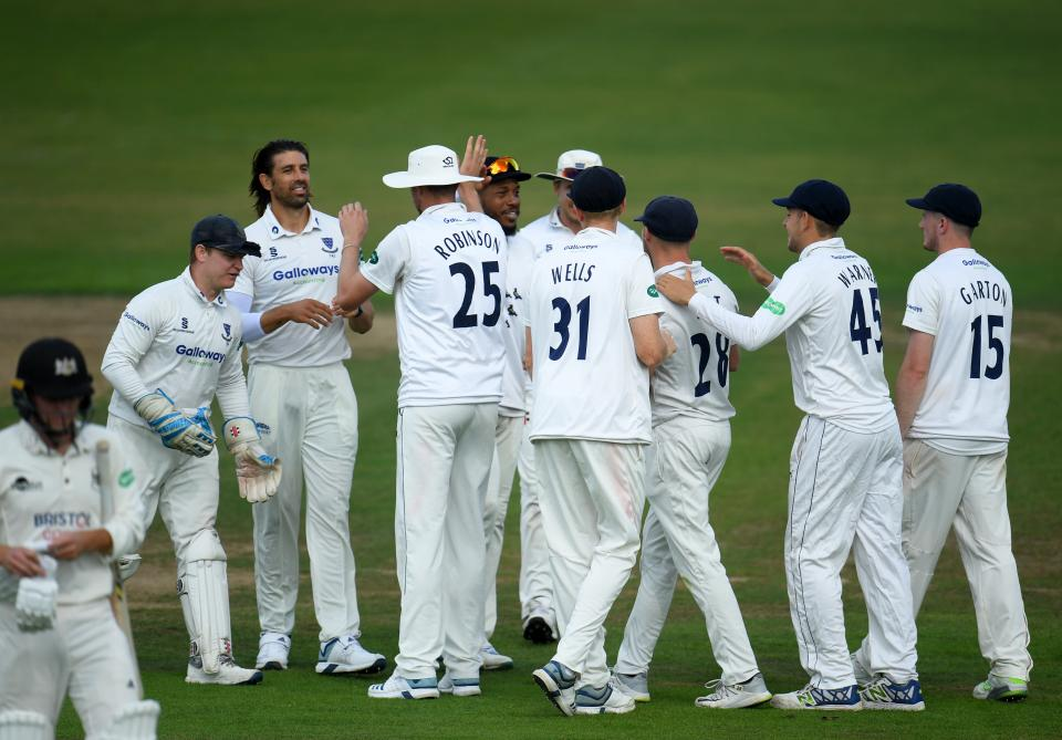 Highlights Gloucestershire Ccc Vs Sussex Ccc Day Two